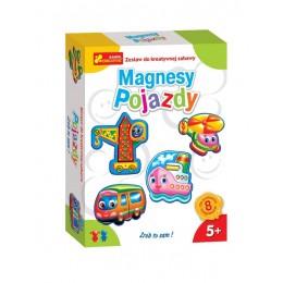 Ranok Creative 2164 Zestaw kreatywny DIY - Magnesy Pojazdy