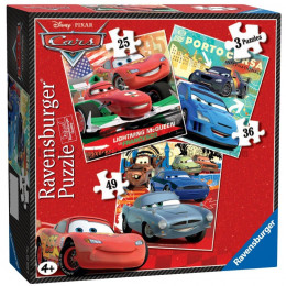 Ravensburger - Puzzle 3 w 1 - Cars - 072583