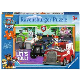 Ravensburger - Puzzle 35 elementów - Psi Patrol - 086177