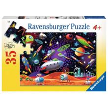 Ravensburger - Puzzle 35 elementów - Kosmos - 087822