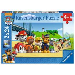Ravensburger - Puzzle 2x24 elementy - Psi Patrol - 090648