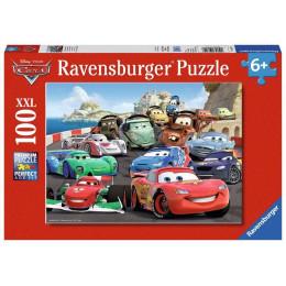 Ravensburger - Puzzle XXL 100 elementów - Auta 2 - 106158
