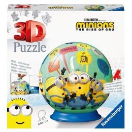 Ravensburger – Puzzle 3D 72 el. – Minionki 111794
