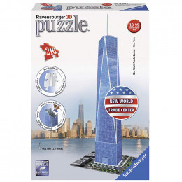 Ravensburger - Puzzle 3D - One World Trade Center 216 el. - 125623