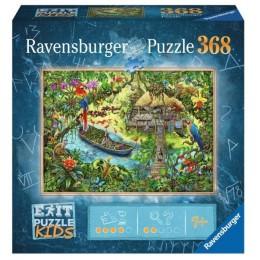 Ravensburger – Puzzle Exit Kids – Wyprawa do dżungli – 12924