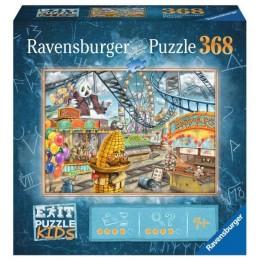 Ravensburger – Puzzle Exit Kids – Wesołe miasteczko park rozrywki – 12926