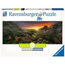 Ravensburger - Puzzle Słońce nad Islandią 1000 elementów - 150946
