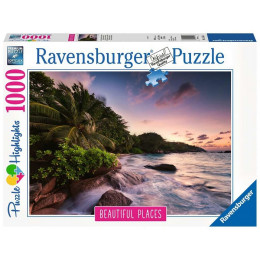 Ravensburger - Seszele - Wyspa Praslin - Puzzle 1000 elementów - 151561
