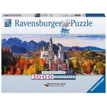 Ravensburger - Puzzle Panorama Zamek Neuschwanstein 1000 elementów - 151615