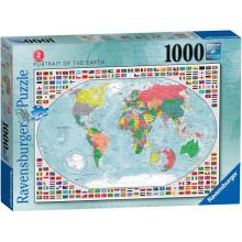 Ravensburger - Portret Ziemi - Puzzle 1000 elementów - 152537