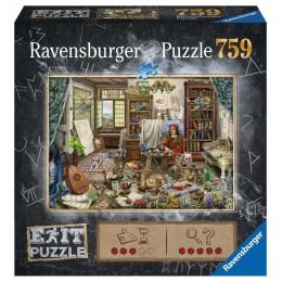Ravensburger – Puzzle Exit – Studio artysty – 16782