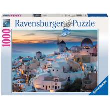 Ravensburger - Santorini - Puzzle 1000 elementów - 196111