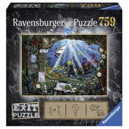 Ravensburger - Puzzle Exit - W łodzi podwodnej - 199532