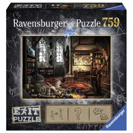 Ravensburger - Puzzle Exit - W laboratorium smoków - 199549