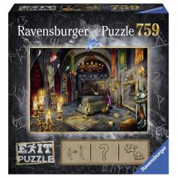 Ravensburger - Puzzle Exit - Zamek wampirów - 199556