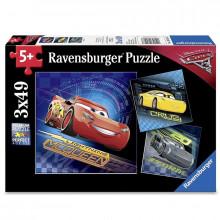 Ravensburger - Puzzle 3x49el - Cars 3 - 080267