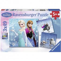 Ravensburger - Puzzle 3x49el - Frozen - 092642