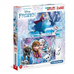 Clementoni - Puzzle 2 x 60 el. - Frozen - 07119
