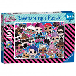 Ravensburger - Puzzle 100 XXL - LOL Surprise - 128822