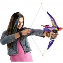 NERF Rebelle Łuk Fioletowy A7324