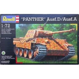Revell 03107 Model do sklejania - Czołg Panther Ausf. D / Ausf. A