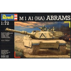 Revell 03112 Model do sklejania - Czołg M1 A1 (HA) Abrams