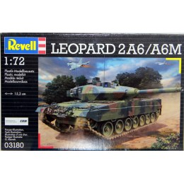 Revell 03180  Model do sklejania - Czołg Leopard 2 A6/A6M