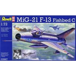 Revell 03967 Model do sklejania - Samolot MiG-21 F.13 Fishbed C
