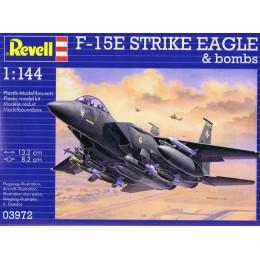 Revell 03972 Model do sklejania - Samolot F-15E Strike Eagle z akcesoriami
