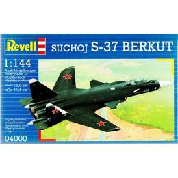Revell 04000 Model do sklejania - Samolot myśliwski Suchoj S-37 Berkut