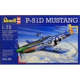 Revell 04148 Model do sklejania - Samolot myśliwski P-51D Mustang