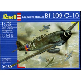 Revell 04160 Model do sklejania – Samolot Messerschmitt Bf 109 G-10