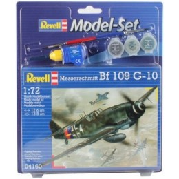 Revell 04160 Model do sklejania - Samolot Bf 109 G-10 z akcesoriami