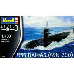 Revell 05067 Model do sklejania - Okręt podwodny USS DALLAS (SSN-700)