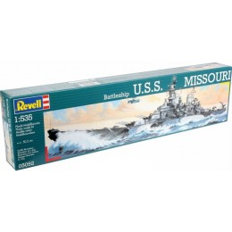 Revell 05092 Model do sklejania - Statek Battleship USS MISSOURI