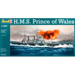 Revell 05135 Model do sklejania - Statek pancerny H.M.S. Prince of Wales