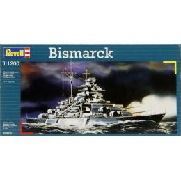 Revell 05802 Model do sklejania - Statek Bismarck z akcesoriami