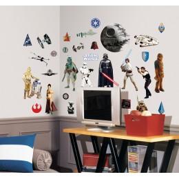 RoomMates Naklejki na Ścianę Wielokrotnego Użytku 1586 - Star Wars Darth Vader