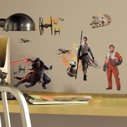 RoomMates Naklejki na Ścianę Wielokrotnego Użytku 3010 - Star Wars VII Przebudzenie Mocy