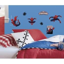RoomMates Naklejki na Ścianę Wielokrotnego Użytku 1795 - Niesamowity Spiderman