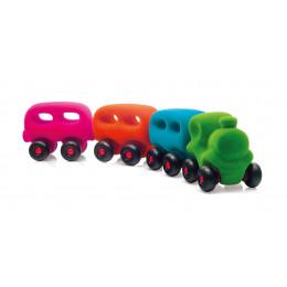 Rubbabu – Pociąg z 3 magnetycznymi wagonami - 20305