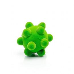 Rubbabu – Zielona mała piłka sensoryczna z dużymi wypustkami - 203271