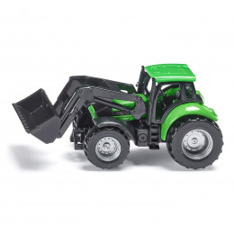 SIKU - Traktor Deutz ze spycharką - 1043