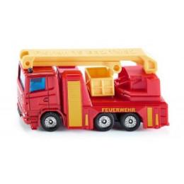 SIKU - Wóz strażacki z podnośnikiem - 1080