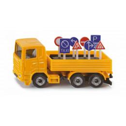 SIKU - Ciężarówka ze znakami - 1322