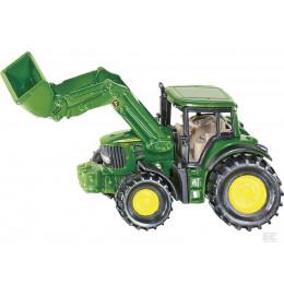 SIKU - Traktor Johh Deere z ładowarką - 1341