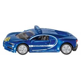 SIKU - Pojazd francuskiej żandarmerii - Bugatti Chiron - 1541