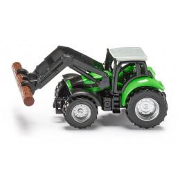 SIKU – Traktor ze szczypcami do drewna – 1380