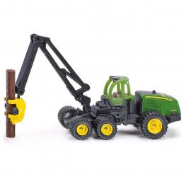 SIKU - Traktor John Deere z drewnem - 1652