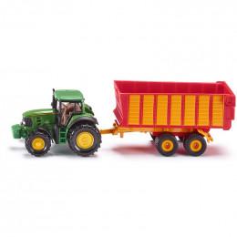 SIKU - Traktor z przyczepą - 1650